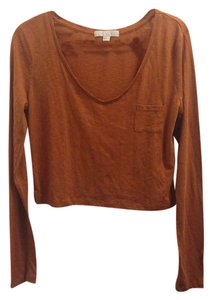 Forever 21 T Shirt Burnt Orange