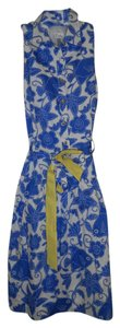 Lilly Pulitzer short dress BLUE,WHITE,YELLOW on Tradesy