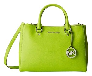 Michael Kors Satchel in Pear