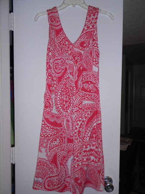 Lilly Pulitzer short dress RED,WHITE on Tradesy
