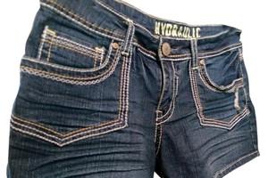 Hydraulic Shorts Blue denim