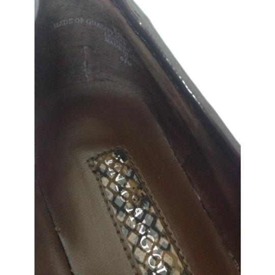 Enzo Angiolini Dark brown Flats