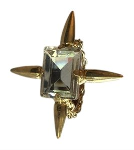 Cool Spiked statement ring