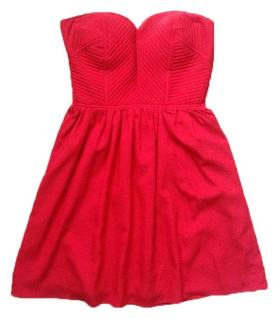 MM Couture Strapless Mini Dress
