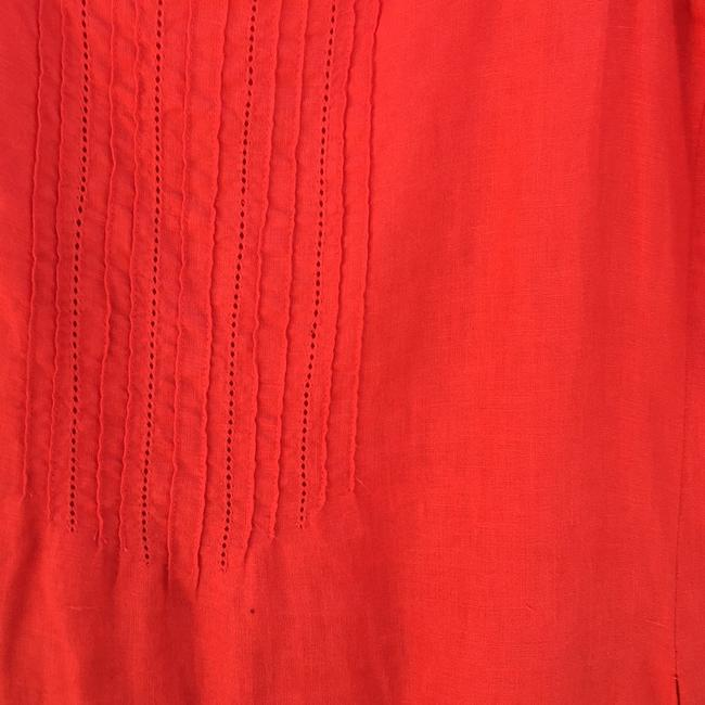 Eileen Fisher short dress Bright coral on Tradesy