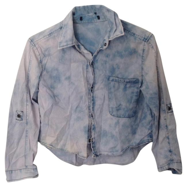 Preload https://item3.tradesy.com/images/diesel-blue-acid-button-up-button-down-top-size-4-s-4909642-0-0.jpg?width=400&height=650