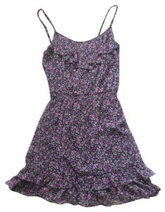 Buffalo David Bitton short dress Purple Floral on Tradesy