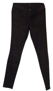 7 For All Mankind Skinny Pants Blac