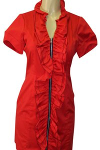 Andrew Marc short dress red on Tradesy