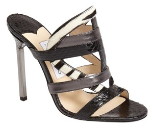 Jimmy Choo Jimmy Sandal Heels Designer Sale Date Night Black Formal