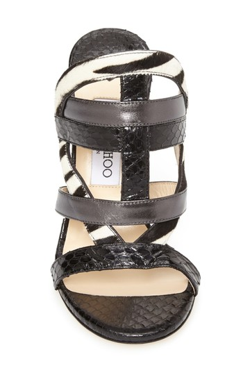 Jimmy Choo Sale Sandal Heels Designer Sale Date Night Black Formal