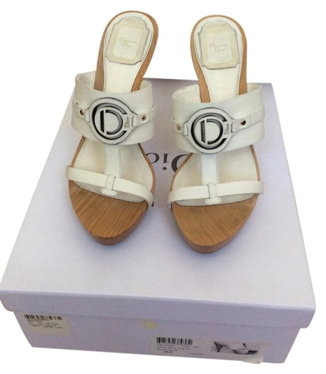 Preload https://item4.tradesy.com/images/dior-white-christian-mulesslides-size-us-65-4910608-0-0.jpg?width=440&height=440