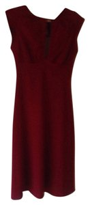 Susana Monaco short dress Deep Red on Tradesy