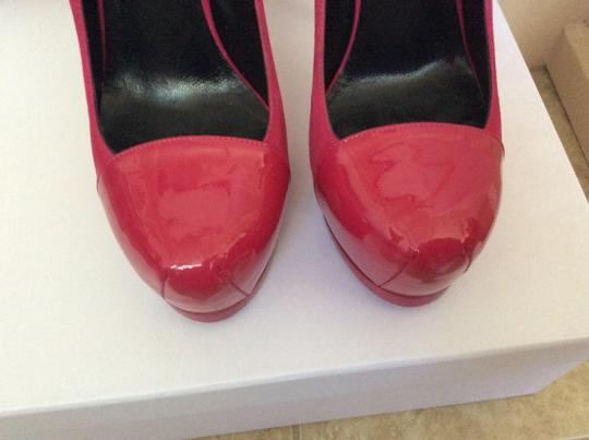 Saint Laurent Hot fuchsia Pumps