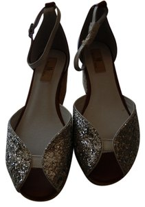MIA Silver/ Brown Wedges