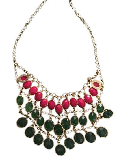 Forever 21 Layered Jewel Necklace