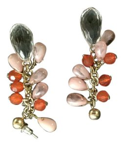 Pier 1 Imports Pink Layered Earrings
