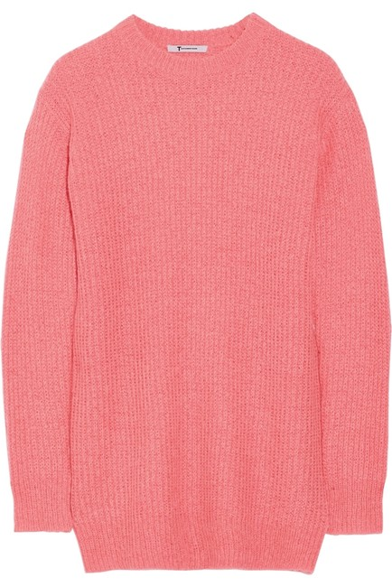 Preload https://item5.tradesy.com/images/t-by-alexander-wang-pink-neon-oversize-sweaterpullover-size-8-m-4911289-0-0.jpg?width=400&height=650
