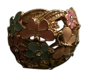 Forever 21 Floral Statement Ring