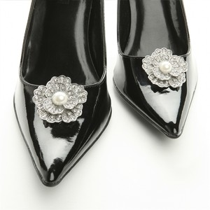Vintage Shoe Clips Wedding Shoes
