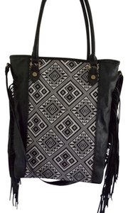 Steve Madden Fringe Hem Cross Body Bag