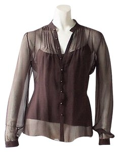 Ralph Lauren Black Label Top Brown