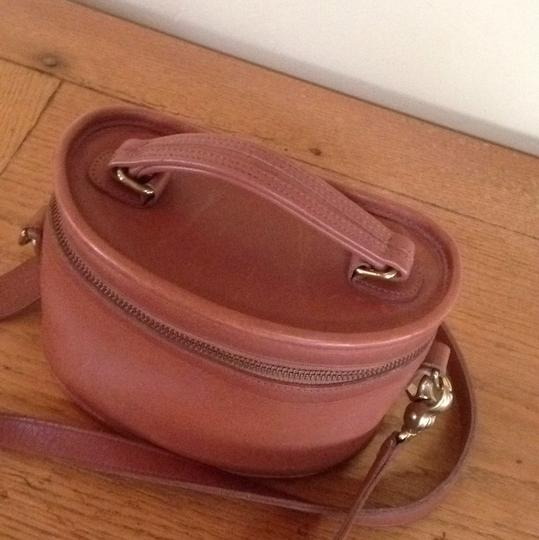 Coach Vintage Leather Train Case Classic Rare Cross Body Bag