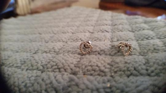 Other 14K WG Diamond Heart Earrings .32CTTW