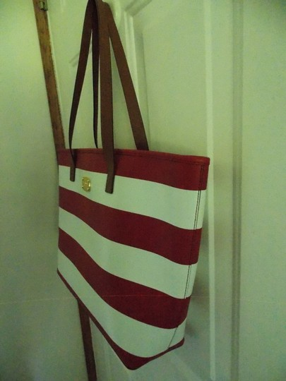 Michael Kors Tote in Red and White