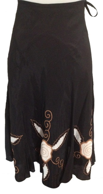 See by Chloé Casual Chic Made In Italy Spring Summer Skirt Black