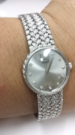 Piaget PIAGET 18K WHITE GOLD WATCH