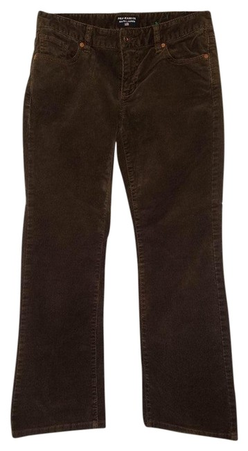 Polo Ralph Lauren Straight Pants brown