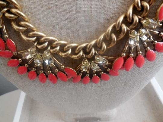 Stella & Dot STELLA & DOT Coral Cay Necklace - New in Box - Display Sample