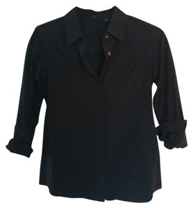 Uniqlo Button Down Shirt Blac