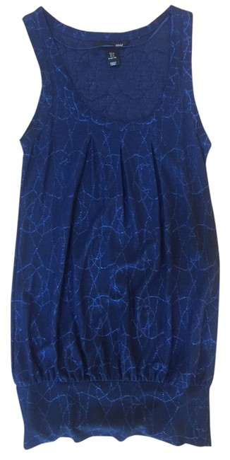Preload https://img-static.tradesy.com/item/4913407/h-and-m-blue-glittery-short-night-out-dress-size-0-xs-0-1-650-650.jpg