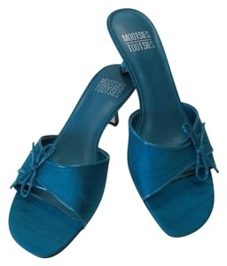 Mootsies Tootsies New Excellent Condition Turquoise Sandals