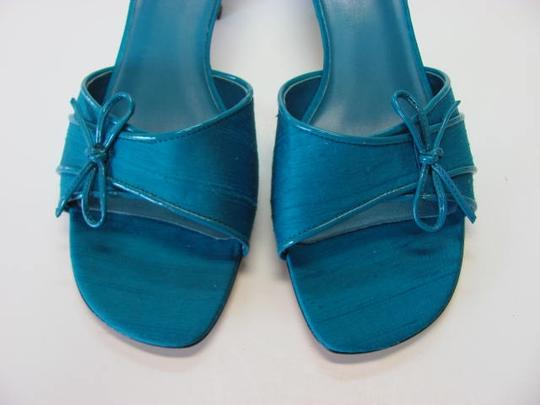 Mootsies Tootsies New Excellent Condition Size 8.50 Turquoise Sandals