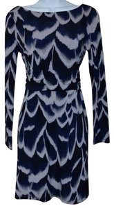 Attention short dress Navy Blue on Tradesy