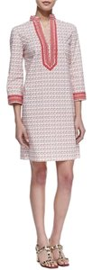 Tory Burch short dress square frames mini soy on Tradesy