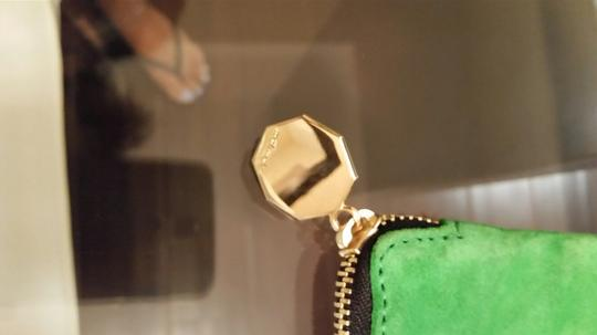 Meli Melo Cheetah green and leopard Clutch Image 1