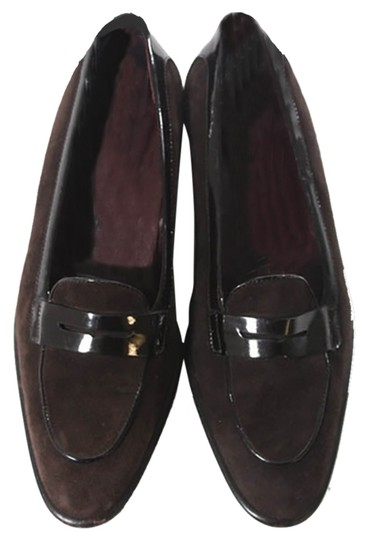 Preload https://item1.tradesy.com/images/tod-s-brown-suede-with-black-patent-leather-trim-flats-size-us-5-regular-m-b-4914475-0-0.jpg?width=440&height=440
