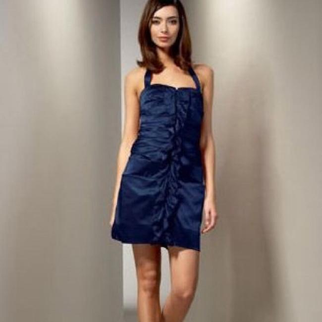 Preload https://img-static.tradesy.com/item/4914529/phoebe-couture-navy-ruffle-halter-above-knee-short-casual-dress-size-2-xs-0-1-650-650.jpg