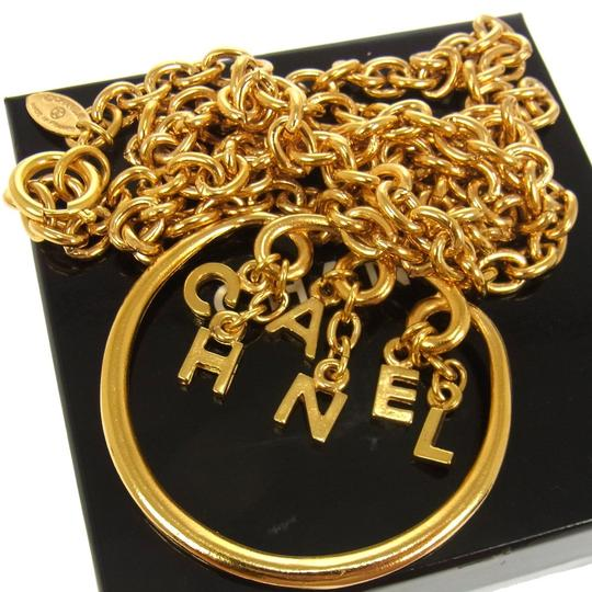 Chanel RARE! Chanel Gold Chain & Charm Necklace