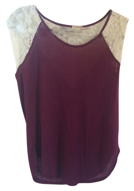 Preload https://item4.tradesy.com/images/lily-white-winemagenta-blouse-size-12-l-4914598-0-0.jpg?width=400&height=650