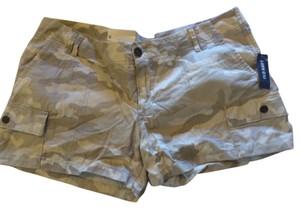 Old Navy Mini/Short Shorts Khaki Camoflauge
