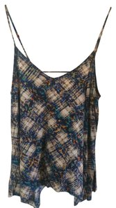 Mossimo Supply Co. Top Multi Colored Print