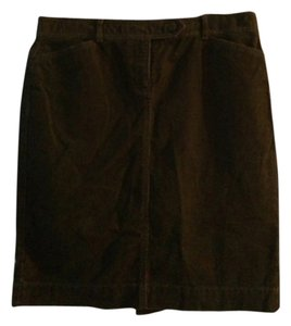 Ann Taylor LOFT Skirt Espresso Brown