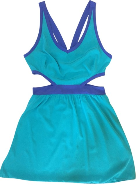 Preload https://item1.tradesy.com/images/turquoise-kaitlyn-mid-length-cocktail-dress-size-8-m-4915105-0-0.jpg?width=400&height=650