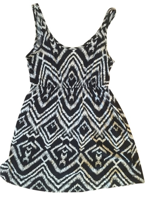 H&M short dress Black & White on Tradesy