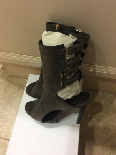 Halston Taupe Boots Image 7